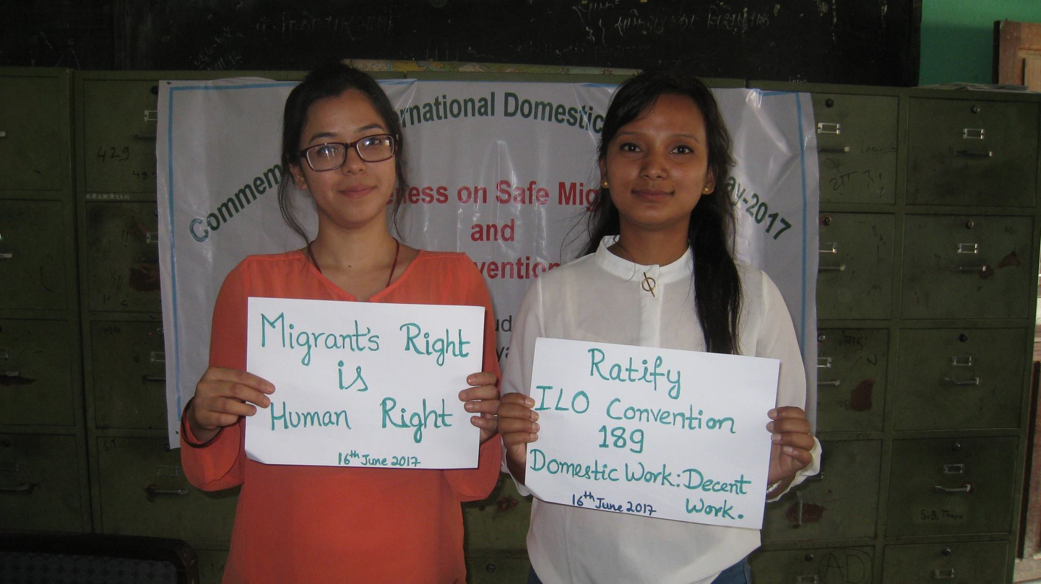"""""""Happy International Domestic Workers Day"""""""